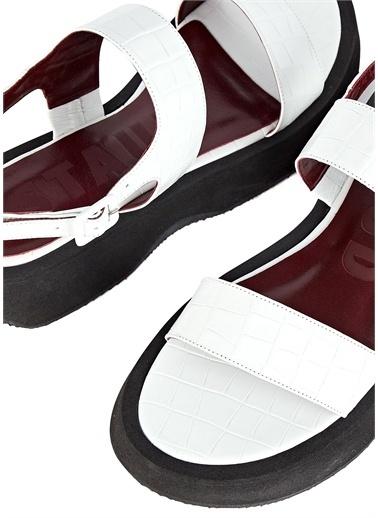 Staud Spor Sandalet Beyaz